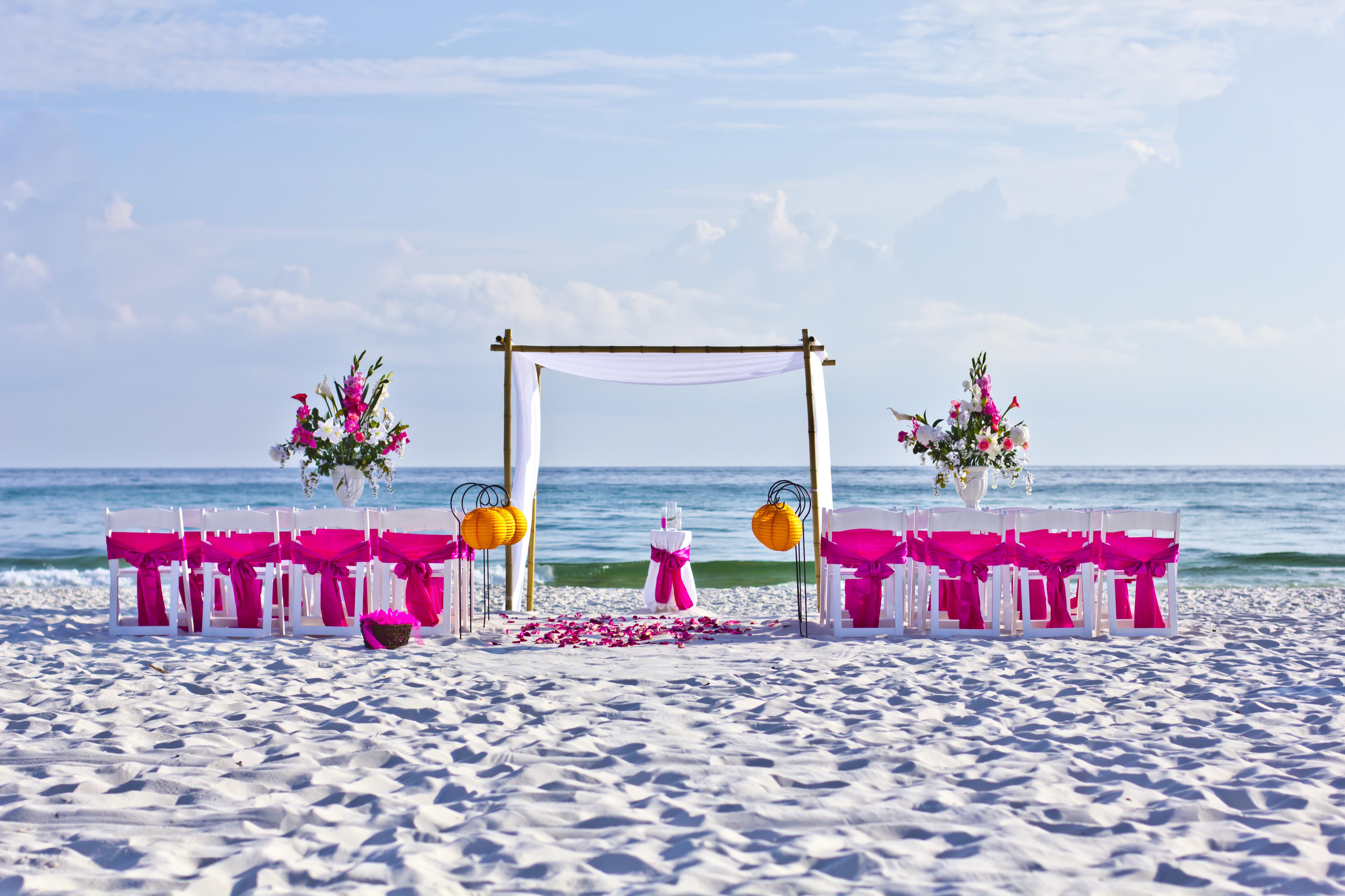 Weddings In Panama | Real Princess Weddings Panama City Beach House Matt And Morgan