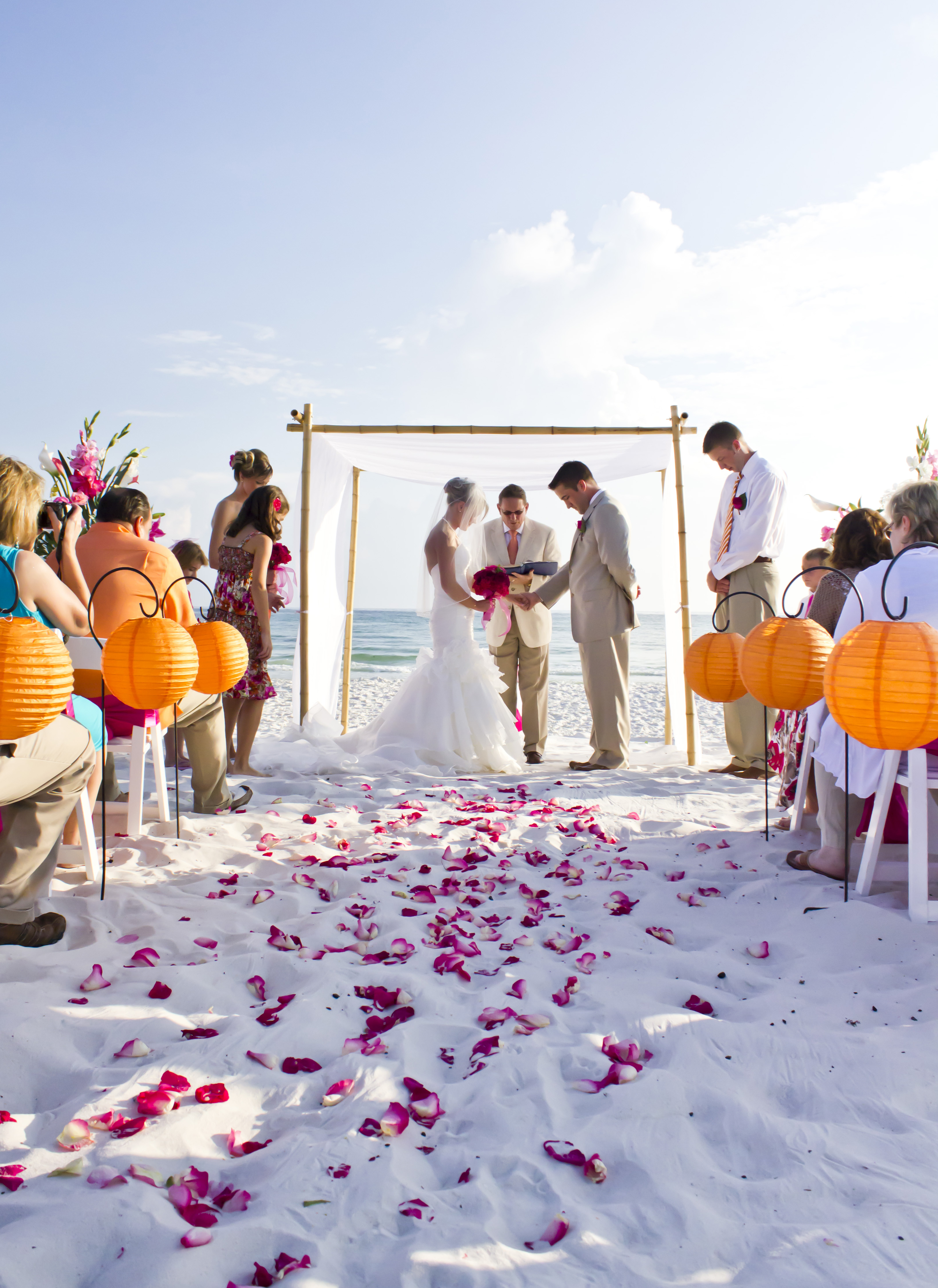 The Beauty Of Fall Beach Weddings Destin In Florida