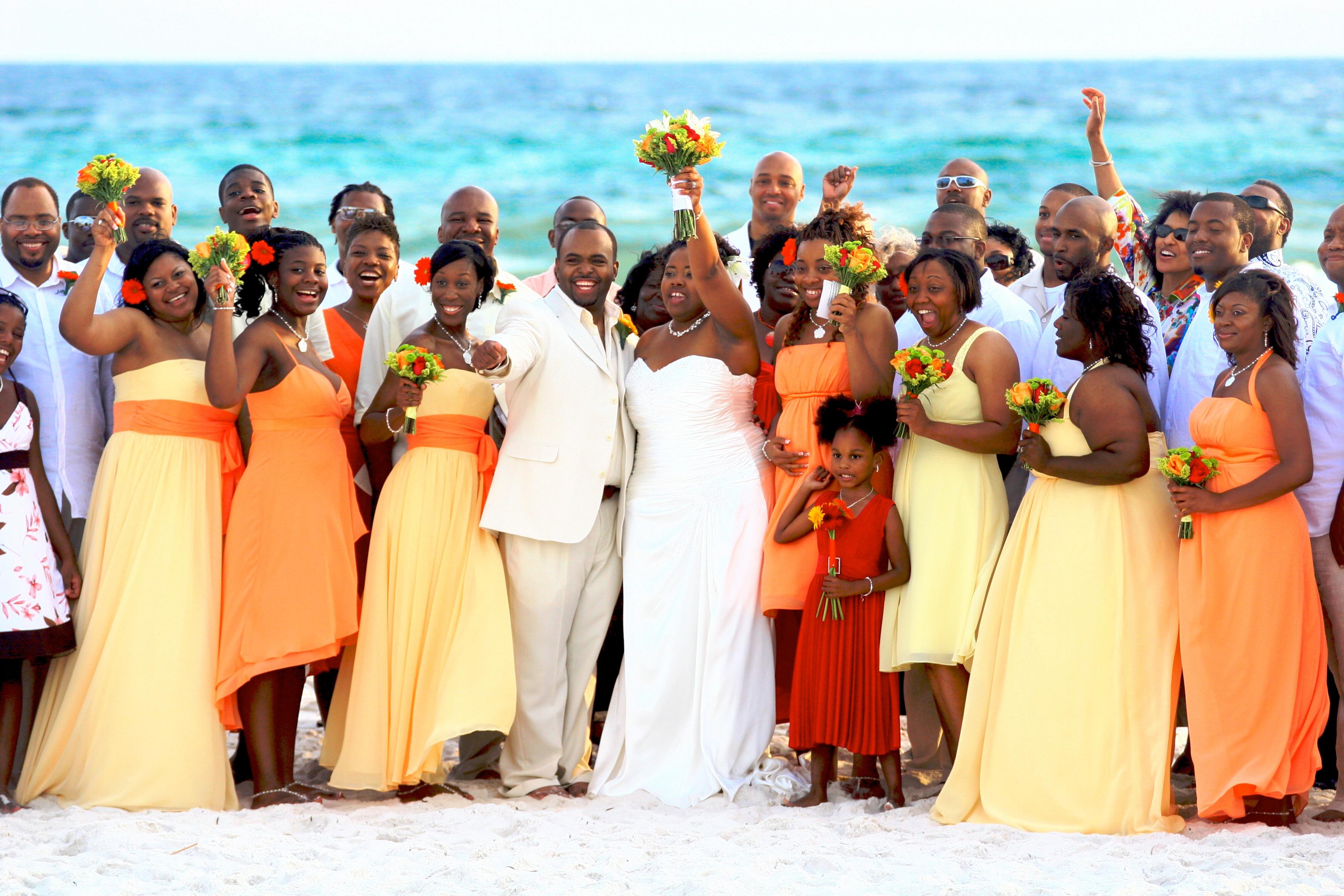 The Beauty Of Fall Beach Weddings 187 Destin Beach Weddings