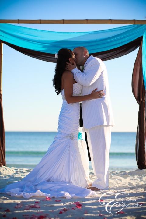 Real Destin Beach Weddings Brittany And Justin Destin