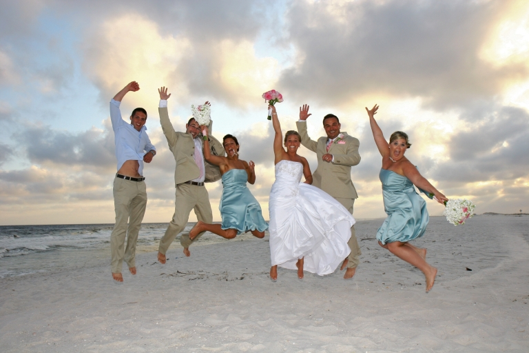 Real Navarre Beach Wedding Holly And Christopher 187 Destin