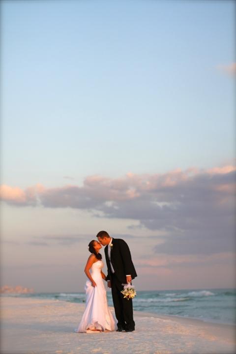 Real Destin Beach Weddings Mindy And Justin 187 Destin