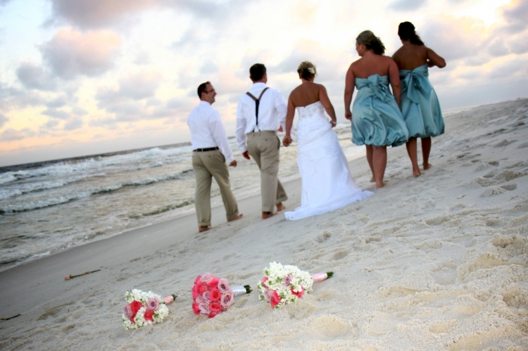 Real Navarre Beach Wedding Holly And Christopher 187 Panama