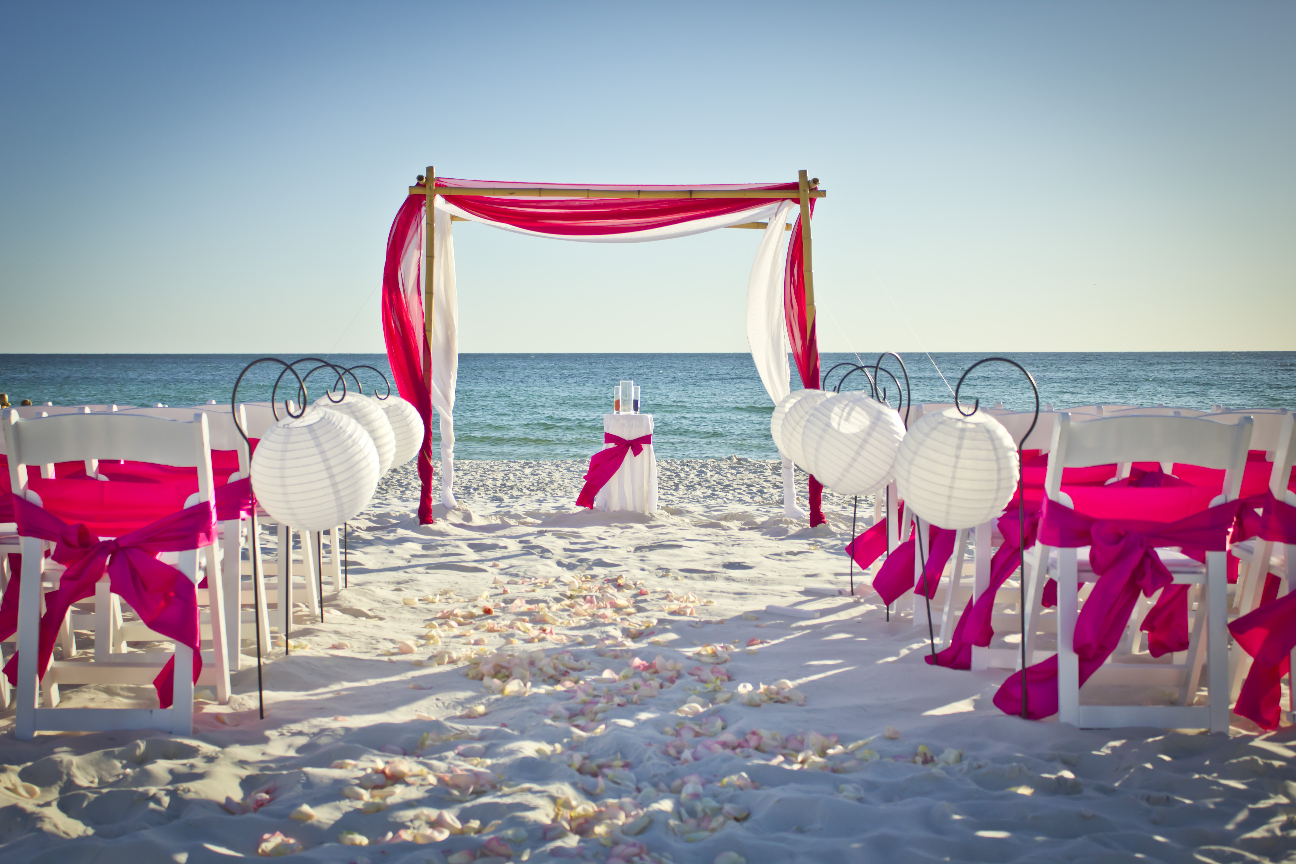 Real panama city beach wedding brandy and brandon destin beach brandy junglespirit Image collections