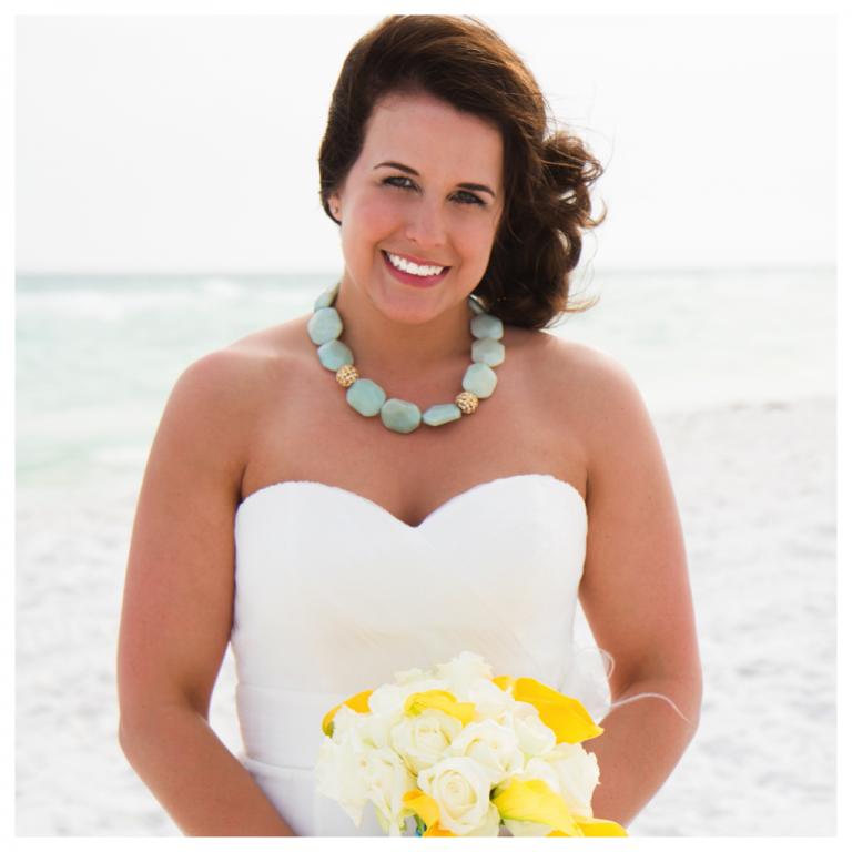 Real Princess Destin Beach Weddings Samantha And Kyle Destin Beach Weddings In Florida