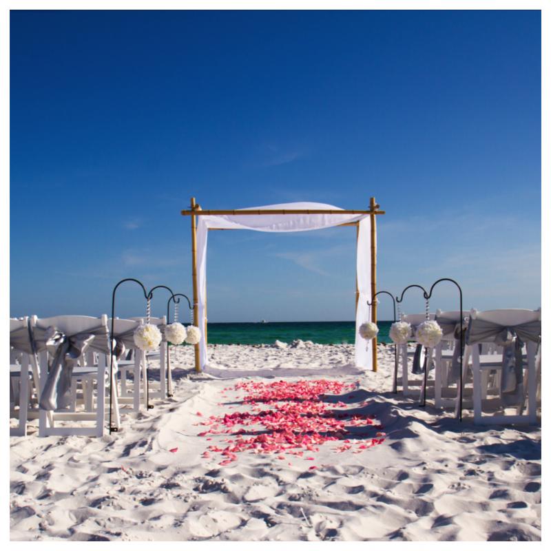 Destin Beach Weddings: Real Destin Beach Weddings: Jessica And Lawrence