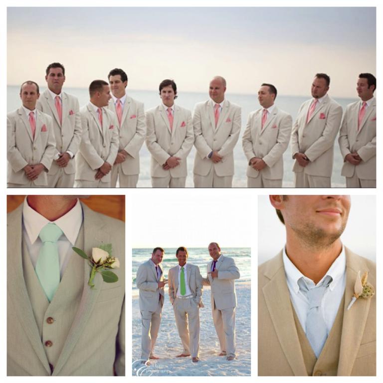 Mayya\'s Beach Wedding Fashion Report: Groom Fashion » Destin Beach ...
