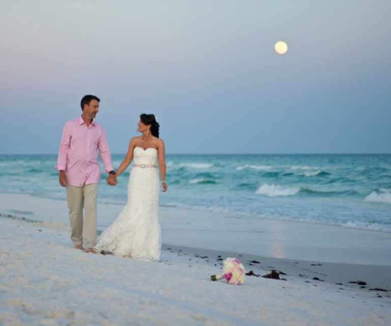 Destin Florida Weddings: Real Destin Beach Weddings: Millisa And James » Destin