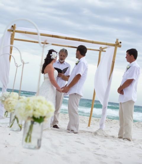 Real Panama City Beach Wedding: Callie And Edward » Destin