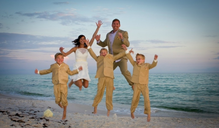 Real Seacrest Beach Weddings Kellie And William Destin Beach Weddings In Florida