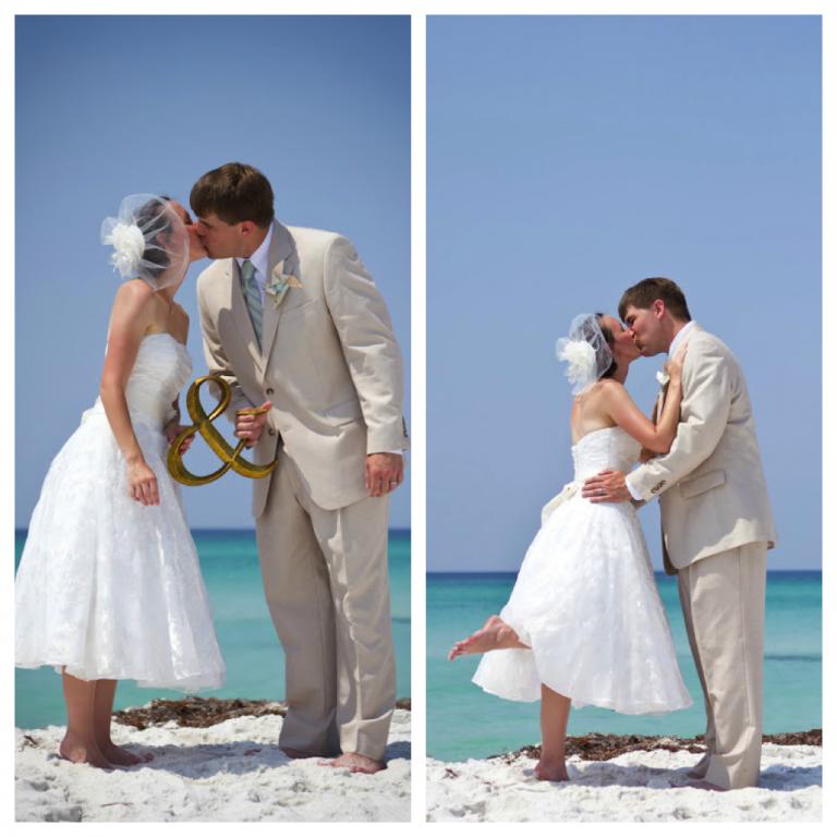 Real Santa Rosa Beach Wedding Ashley And Matthew 187 Destin