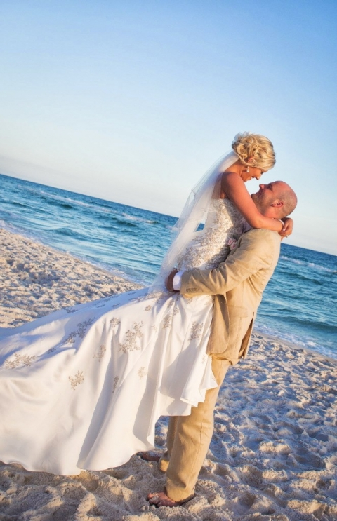 Real Panama City Beach Ceremony And Reception Amy And
