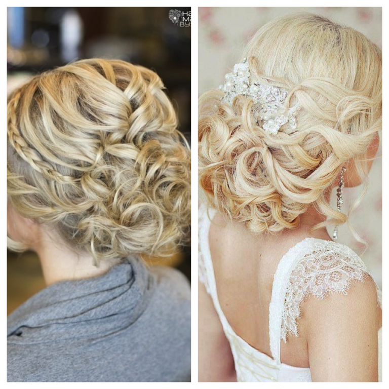Beach Wavy Wedding Hairstyles: Celebrity Hair Trends: Chignon » Panama City Beach