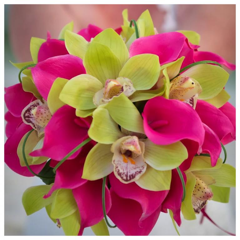 sept 18 destin weddign flowers
