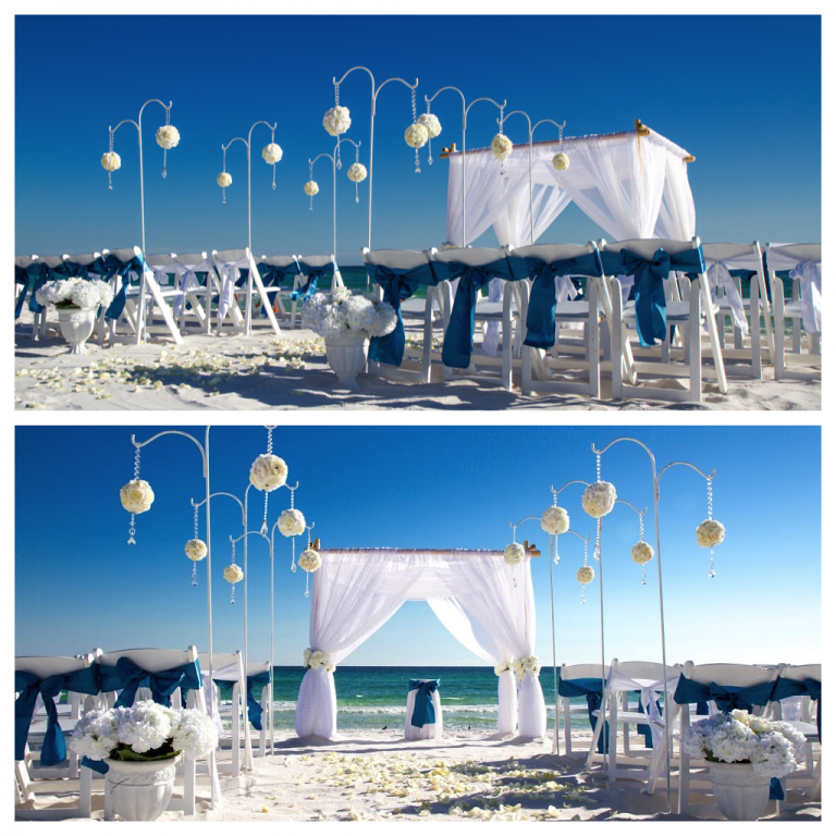 2013 Most Popular Destin Beach Wedding Packages Destin Beach Weddings In Florida