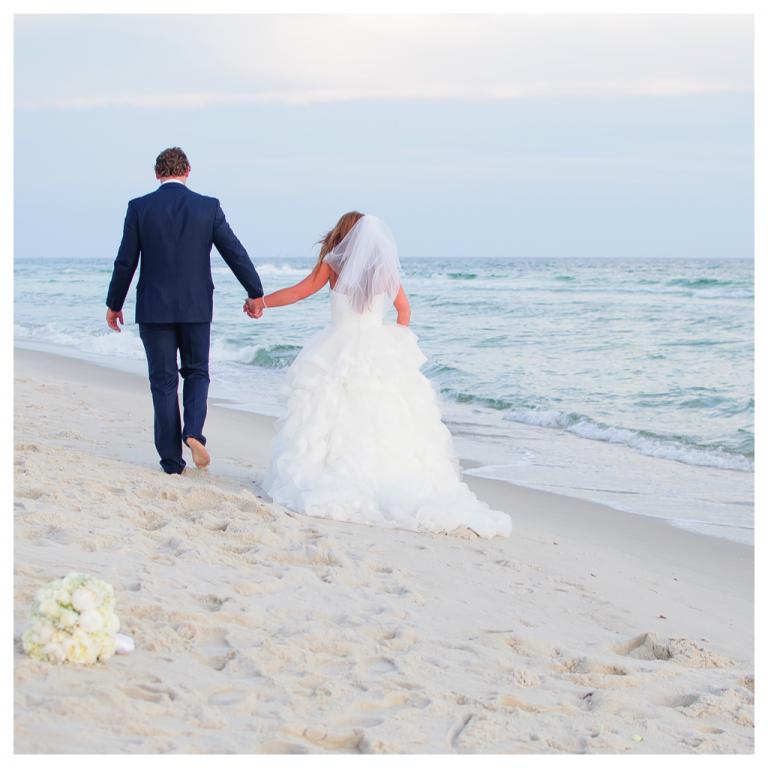 Real Panama City Beach Weddings: Meghan And Jefferey