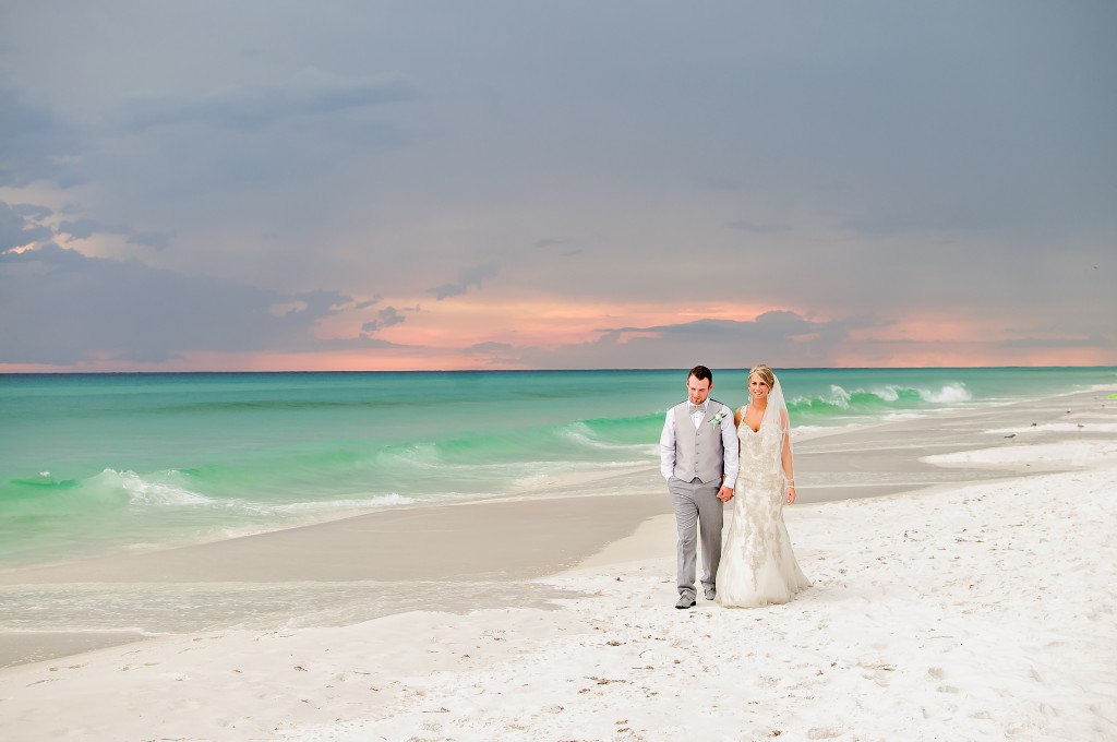 Real Destin Beach Weddings Autumn And Brent 187 Panama City