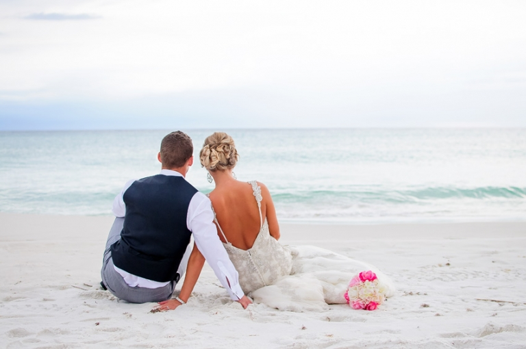 destin beach wedding packages offer everything you might need for your ceremony and include officiate bamboo arbor chairs wedding coordinator