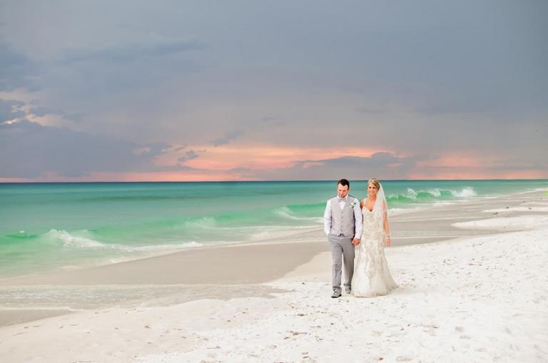 Destin Florida Wedding On The Beach