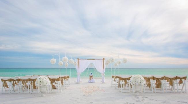 destin wedding decorations