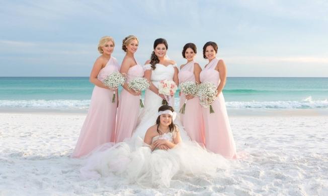 Cheap pink beach wedding dresses – Wedding Photo Blog 2017