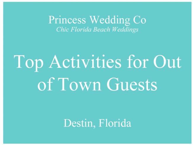 destin destination wedding