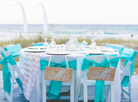 tiffany green beach wedding florida