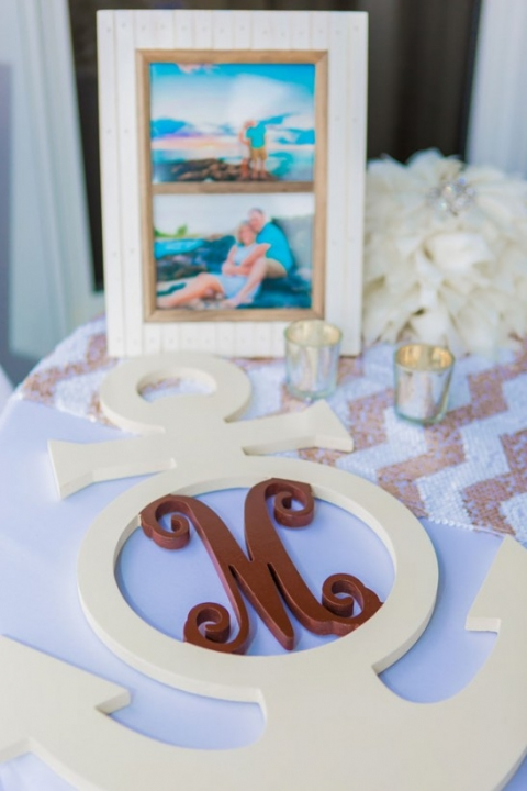 reception decorations beach wedding