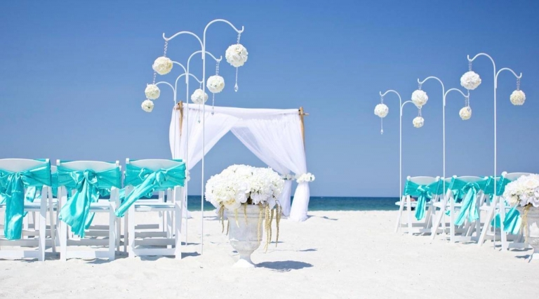 trend beach wedding decorations