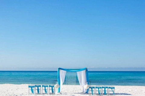 best beach wedding decorations in Destin