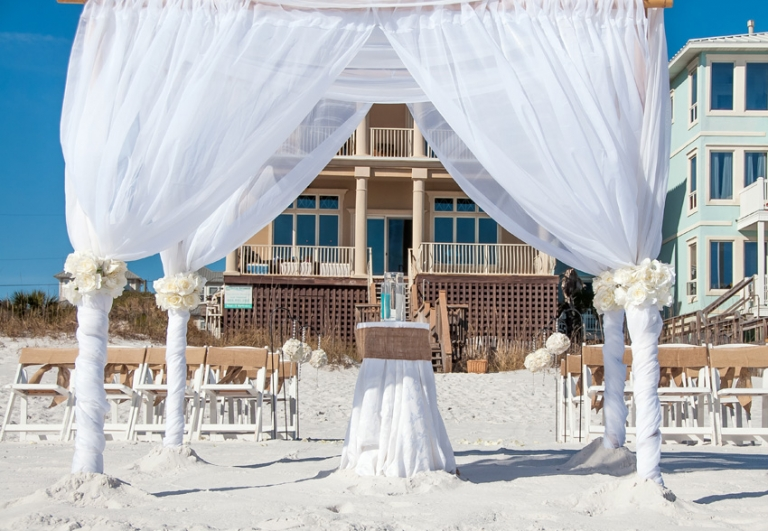 All inclusive wedding package destin beach weddings in for All inclusive wedding packages