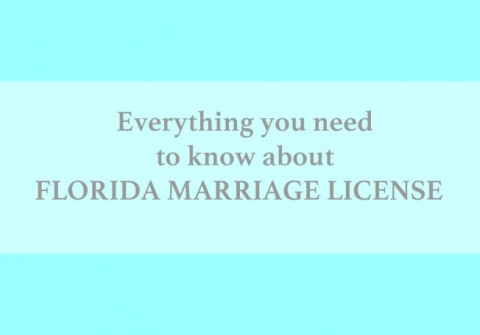 Info about Florida marriage license in Panama City Beach