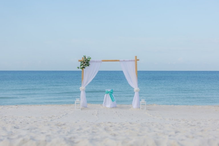 Panama City Beach Wedding Ceremony