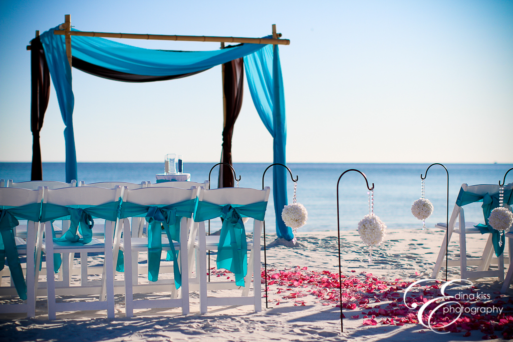 Real Destin Beach Weddings Brittany And Justin Florida