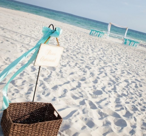 Destine Beach Wedding
