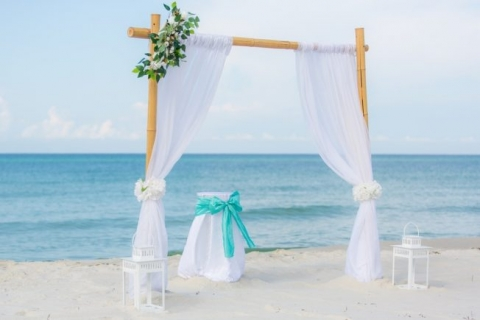 Bamboo Arbor Panama City Beach Wedding