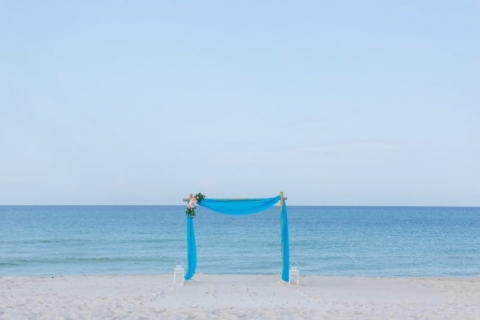 beach weddings in Panama City Florida