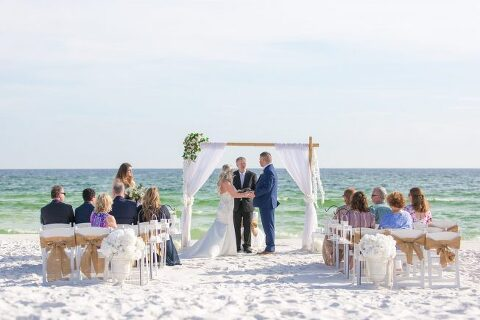 beach wedding in Destin fl
