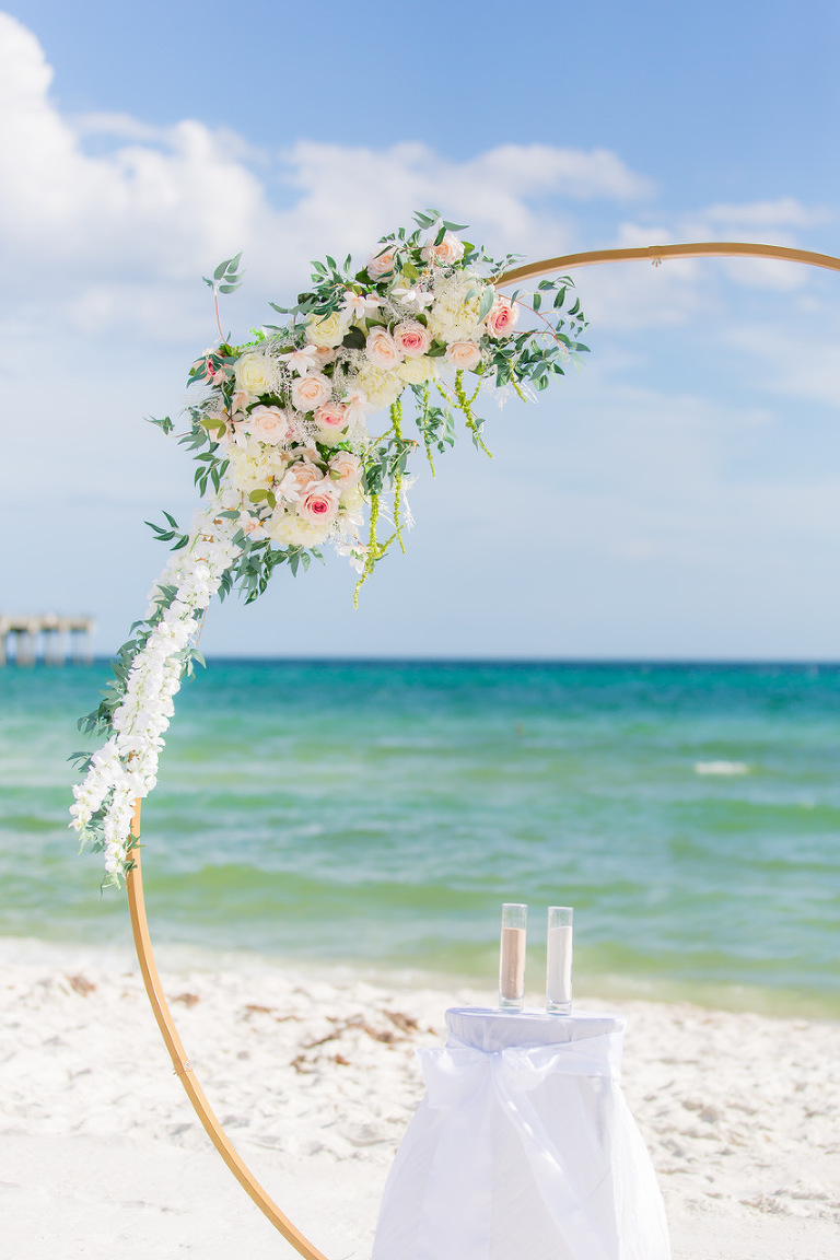 Coastal Destin wedding