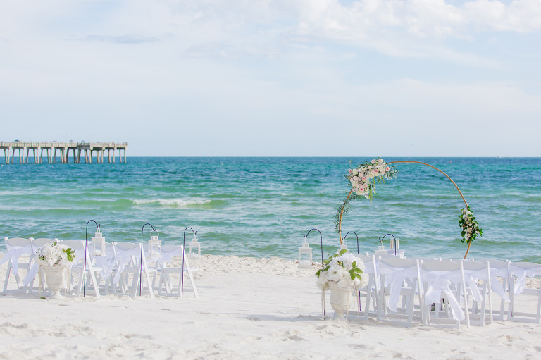 beach wedding in Destin Florida